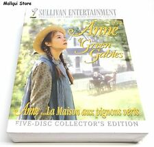ANNE OF GREEN GABLES DVD 2008 THE TRILOGY COLLECTION 5 DVDS SET