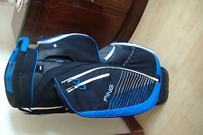 PING TRAVERSE CART BAG - BLACK BLUE - 14 WAY DIVIDER