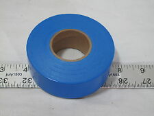 """(1) roll Blue Flagging Tape 1-3/16"""" x 300' 2 mil Trail Marking Free Shipping"""