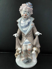 Lladro clown figurine-surprise