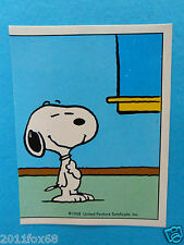 figurines figuren stickers snoopy figurine i love snoopy n. 253 panini 1980-90