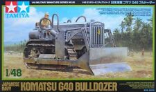 Tamiya 32565 1/48 Scale Model Kit WWII Japanese Navy Komatsu G40 Bulldozer
