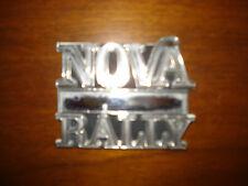 1977 NOVA RALLY TRUNK EMBLEM 77 ONLY NON REPRODUCED