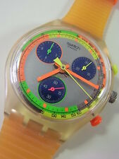 SCK104 Swatch 1992 Chronograph Jelly Stag Fluorescent