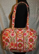 Vera Bradley Folkloric Print Diaper Bag Messenger Baby Travel