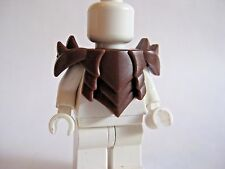 Custom HORNED PLATE ARMOR for Lego Minifigures Castle LOTR Orc Assassin -BROWN-