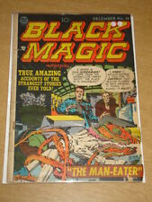 BLACK MAGIC VOL 3 #1 G+ (2.5) CRESTWOOD PRIZE COMICS JACK KIRBY DECEMBER 1952