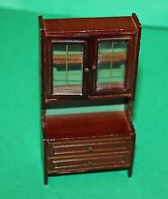 Vintage Dolls House Lundby Wall Unit Display Cabinet
