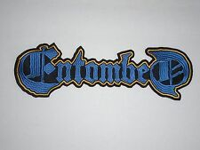 ENTOMBED DEATH METAL EMBROIDERED BACK PATCH