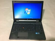 "HP EliteBook 8570w 15.6"" Quad Core i7-3610QM 2.30GHz 16GB 500 SSD FHD Windows 7"