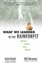 What We Learned in the Rainforest: Business Lessons from Nature-ExLibrary