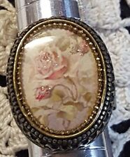 Michal Negrin  Cameo   Ring -NWT