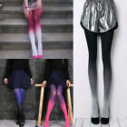 Cute Gradient Print Pantyhose Girl's Women's Sexy Stylish Tights Stockings