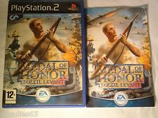 PS2 PS3 MEDAL OF HONOR PLAYSTATION 2 MEDAL OF HONOR SOLEIL LEVANT PS2