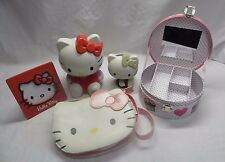 Hello Kitty Bundle - Bag,Money Box, Jewellery box, Picture Frame & Pen Holder