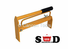 "12""-20"" INCH BRICK LAYERS HOLDING CARRIER CARRY TONGS D TYPE BUILDERS HOD CT2062"