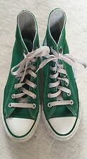 Converse All Star Green Canvas Hi Tops Trainers Size 4