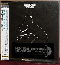 JAPAN Made CD UICY-9103: ELTON JOHN - 17-11-70 - OBI 2001 OOP SEALED