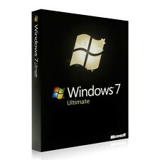 Microsoft Windows 7 ULTIMATE 32/64 bit | OEM Key | ESD versione completa