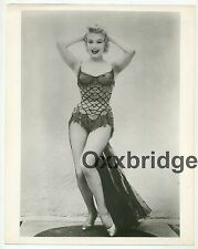 MARILYN MONROE Bus Stop Showgirl 1956 ORIGINAL PHOTO Burlesque Coconut Girl