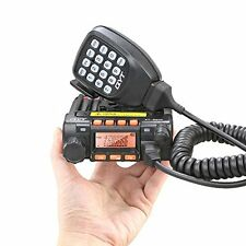 25W MINI Mobile Radio QYT KT-8900 Dual Band 136-174/400-480MHz Walkie Talkie