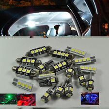 14x white LED Interior Light Kit Package For VW Volkswagen Passat B6 Error Free