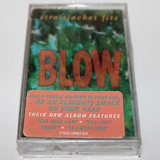 Straightjacket Fits Blow Cassette Tape SEALED w/ Sticker New Zealand Indie Rock