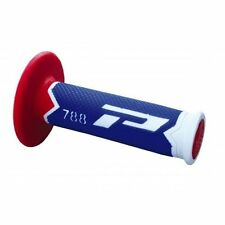NEW 2017 PRO GRIP 788 LTD EDITION MXON GRIPS BLUE/WHITE/RED YAMAHA YZ125 YZ250