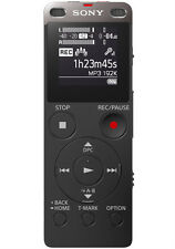 SONY ICD-UX560F/B DIGITAL VOICE RECORDER+BUILT IN USB+4GB+EXPANDABLE+FM+LITHIUM