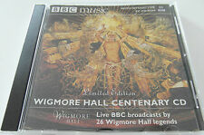 BBC Music - Wigmore Hall Centenary / Limited Edition (CD Album) Used Very Good