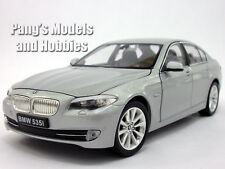 BMW 535i (535) 1/24 Scale Diecast Metal Model by Welly - Silver