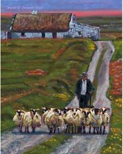 COLOR PRINT OF OIL PAINTING, IRELAND SERIES #138