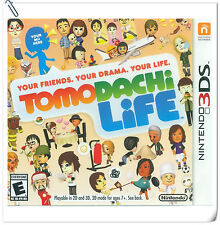 3DS Nintendo Tomodachi Life Misc Games