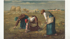 BF33910 peasants field working painting  art front/back scan