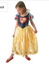 Rubies Official Girls Love Heart Snow White Costume L-7-8yrs New World Book Day