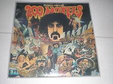Frank Zappa LP 200 Motels SOUNDTRACK