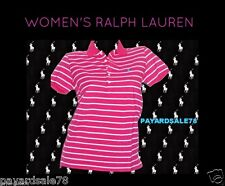 WOMEN'S RALPH LAUREN SPORT POLO SHIRT SHORT SLEEVE TOP SIZE SMALL $59.99 NEW