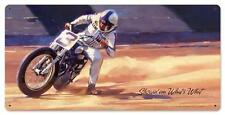 Motorcycle Race Car Metal Sign Man Cave Garage Body Shop Club Tom Fritz TF051