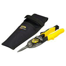 "Stanley FatMax 10"" 250mm Straight Cut Aviation Metal/Tin Snips/Shears, 914563"