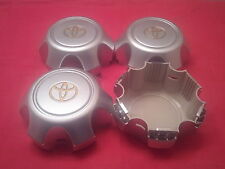 USED 4pcs. 90-98 Land Cruiser FJ80 Center Alloy Wheel Hub Caps SCRATCHES!!!