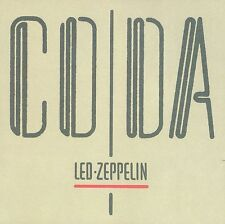 LED ZEPPELIN Coda 180gm Vinyl LP 2015 (8 Tracks) Remastered NEW  & SEALED