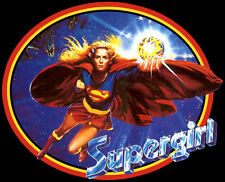 80's DC Comics Movie Classic Supergirl Poster Art custom tee Any Size Any Color