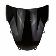 Plastic Windshield Screen Visor Black Suzuki GSXR 600 750 2001 - 2003 Motorcycle