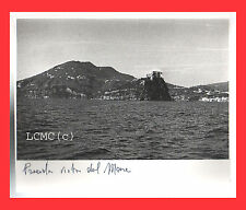 FOTOGRAFIA PHOTO VINTAGE B/N BLACK AND WHITE 1978 ISCHIA VISTA DAL MARE
