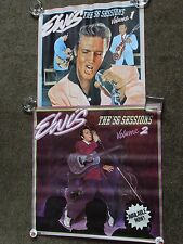 "Elvis Presley ""'56  Sessions Volumes 1 & 2"" 1978 UK RCA Promo Posters"