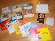 CLUB NINTENDO REWARDS 2014 Calendar ELITE LOT: Zelda HD, Mario, Metroid, Pokemon