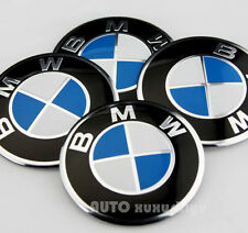 "4x 56mm 2.2"" Auto Car Wheel Center Hub Cap Emblem Badge Decal Sticker for hot"