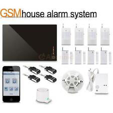 2016 Wireless GSM SMS Intelligent Home Alarm System iPhone / Android APP Control