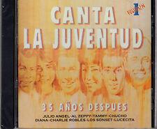 CANTA LA JUVENTUD VOL.1/C LUCECITA,CHARLIE ROBLES, AL ZEPPY, TAMMY LOS SONSET-CD