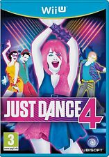 BNIB ~ NINTENDO Wii ~ JUST DANCE 4  {factory sealed} [**2nd game - post free **]